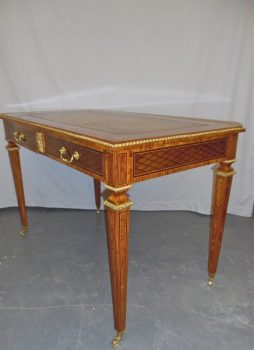 Antique Inlaid Writing Table
