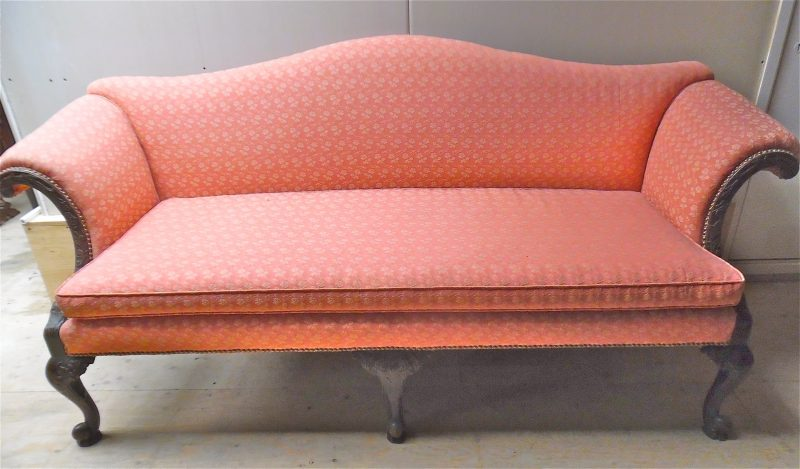 Large Chippendale Style Sofa Interior Boutiques Antiques For Sale And Mid Century Modern