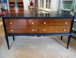 An Italian Mid 20th Century Four Drawer Commode
