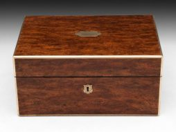 Antique Patridgewood Jewellery Box
