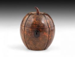 Antique Melon Tea Caddy