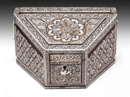 Antique Anglo Indian Stationery Box