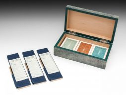 Art Deco Shagreen Card Box