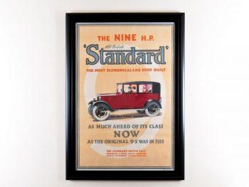 1930's Original Advertising Poster