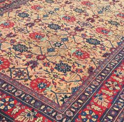 Antique North West Persian Tabriz Carpet - POA