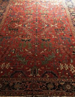 Antique  Persian Heriz Allover Design Carpet - POA