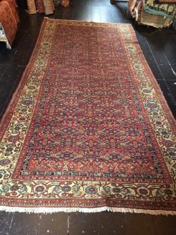 Antique N West Persian Malayer Carpet - POA