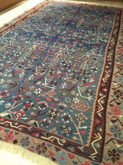 Late 19th Century East European Rare Bassarebian Kilim - POA