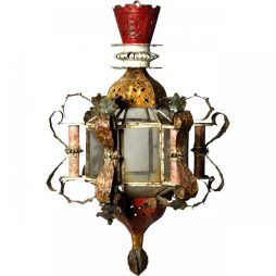 Antique Hanging Lantern from Morocco