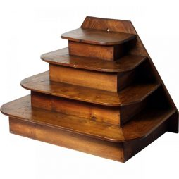 Antique 4 Tier Display Stand from period French Pharmacy
