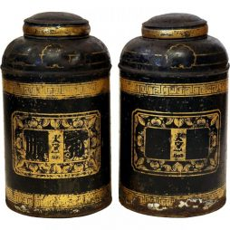 Pair of Victorian Tea Caddies from England