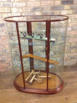 Bespoke Bow Display Cabinet - POA