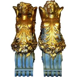 Pair of Angel Corbels - copies from originals