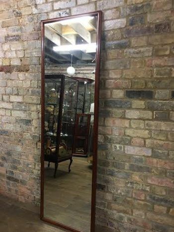 Mahogany Framed Large Mirror