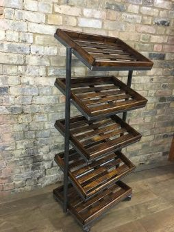 Vintage 1930s Retro Style Shoe Trolleys - POA