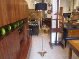 Mid-Century Bronze Floor Lamp