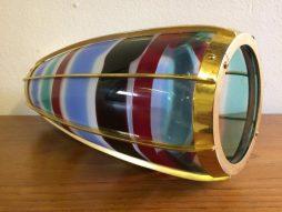 Glass Pendant Lamp by Venini for Studio BBPR