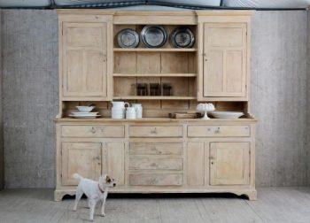 Antique 19th Century Stripped Back Pine Dresser