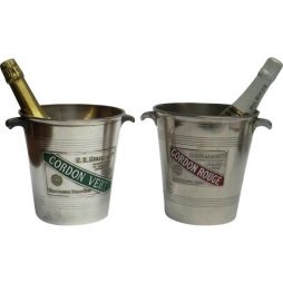 "Attractive pair of Vintage ""Mumm' Champagne Ice Buckets"