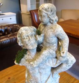 Antique Marble Statue of St Christopher