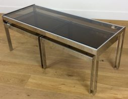 Mid Century Modern Design Nest of Tables by Richard Young for Merrow Associates