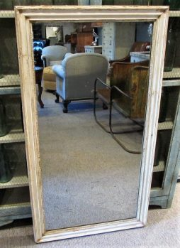 Antique French 19th Century Lacquered Mirror