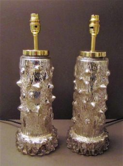 Mid-Century Pair of Table Lamps