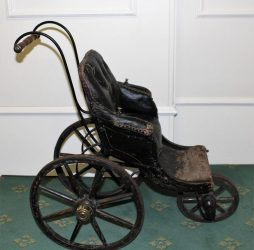 Childs Early Antique Perambulator Circa 1850