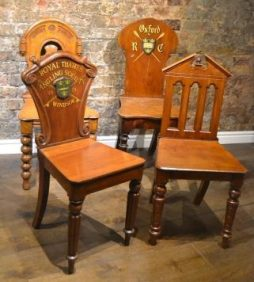 Antique Hall Chairs - POA