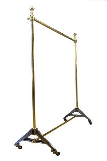 Bespoke Brass Shop Industrial Hanging Rail - POA