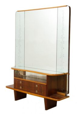 Mid Century Italian Dressing Table by Mario Bellini