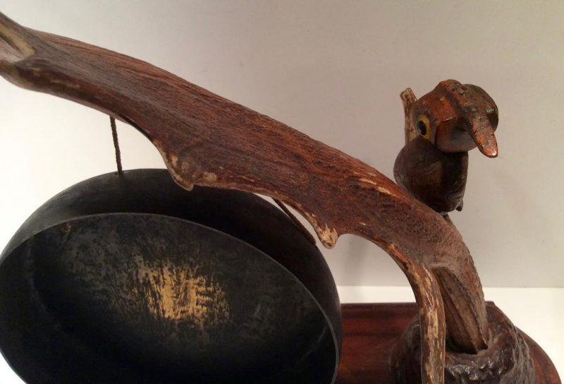 Rare Yz For Dunhill Nut Bird Dinner Gong Interior