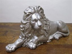 Antique Cast Iron Lion Boot Scrape