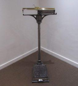 Antique Set of Gymnasium Scales