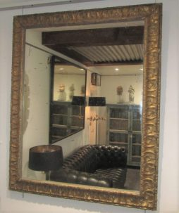 Antique Pair of Gilt Wood Mirrors