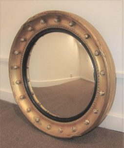 Antique 19th Century Convex Mirror