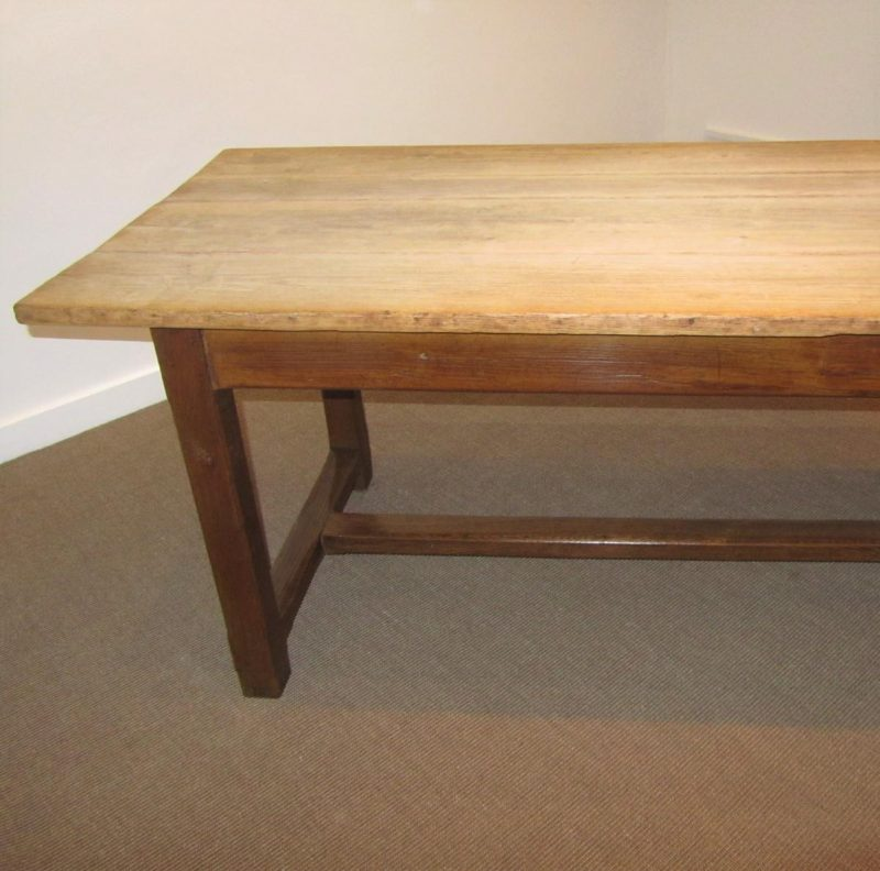Montego Contemporary Merlot Wood Square End Table W Drawer: Antique Large Scrub Top Farmhouse Table