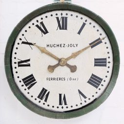 273-Old French Wine Barrel Clock