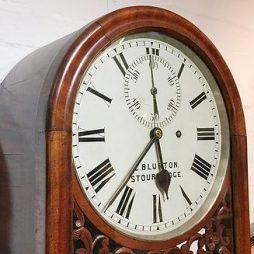 186-English Clockmaker's Regulator