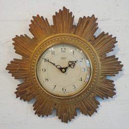 017-Smiths 1930s Sunburst Clock