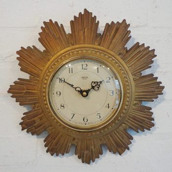 017-Smiths 1930s Sunburst Clock