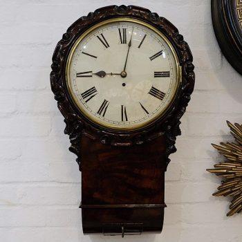 158-Drop Dial Wall Clock