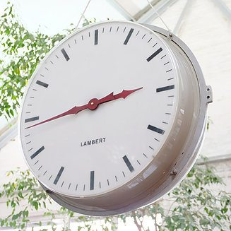 267-Double-Side Retro Clock