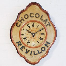 285-French Advertising Clock