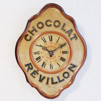 285-French Advertising Clock