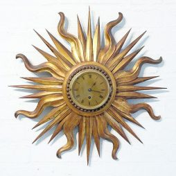 228-Sunburst Clock
