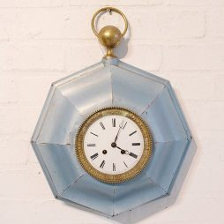 175-Octagonal French Tole Clock