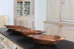 Collection French Primitive Wooden Dough Bowls