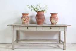 Antique Swedish 19th Century Console Server Table