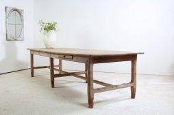 Monumental French 19th Century Farmhouse Table